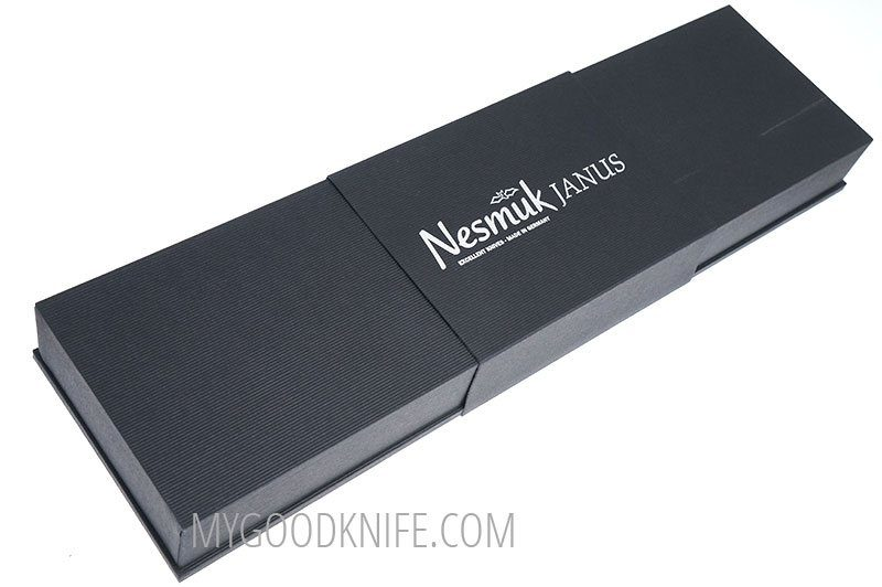 Фотография #3 Nesmuk JANUS 5.0 Нож для тонкой нарезки, Морёный дуб (J5M1602013)