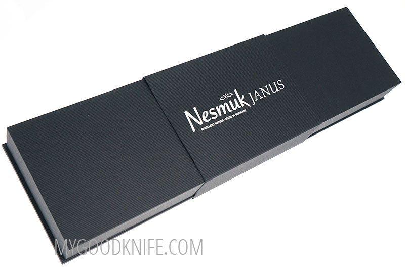 Фотография #2 Nesmuk JANUS 5.0 Поварской нож, Морёный дуб (J5M1802013)