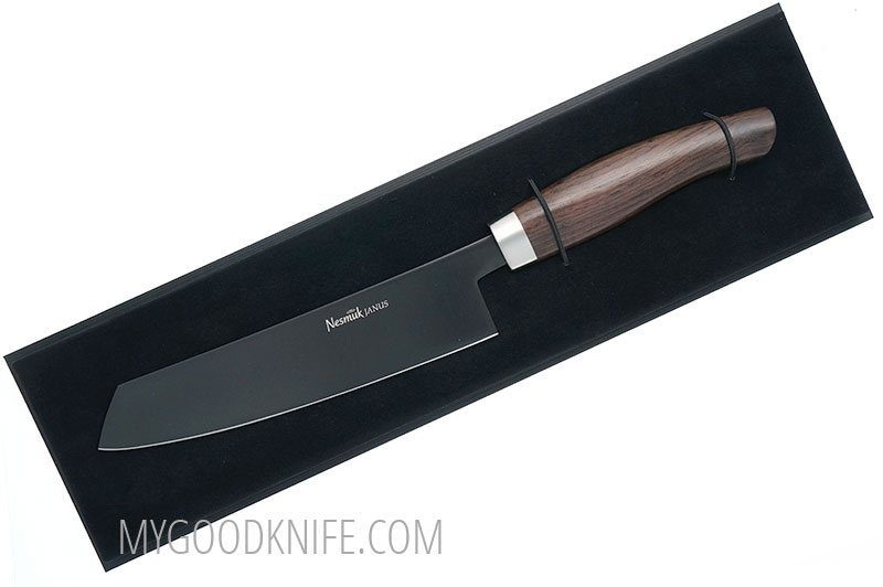Photo #2 Nesmuk JANUS 5.0 Chef knife, Grenadilla (J5G1802013)