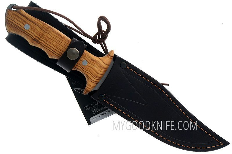 Photo #4 Hunting and Outdoor knife Miguel Nieto Linea Apache, olive 1041 14.5cm