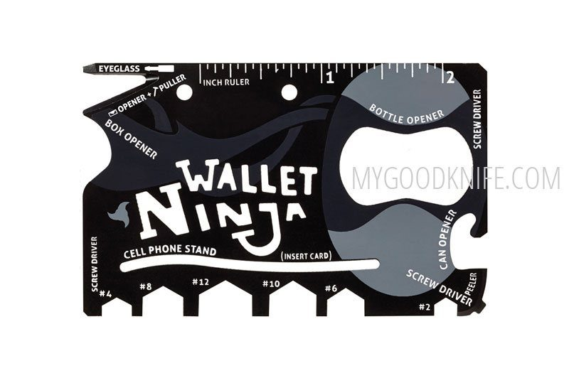 Фотография #1 Wallet Ninja 18 Tools in 1