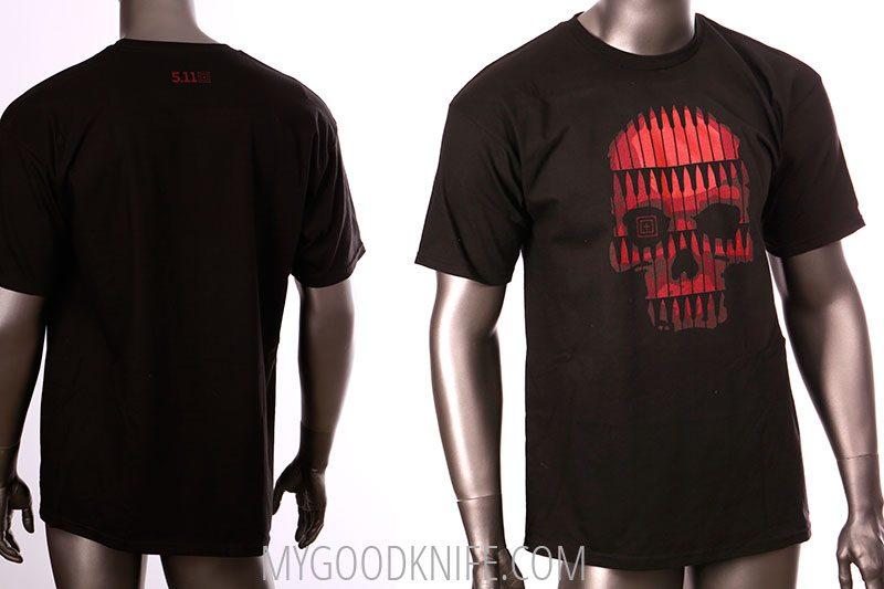 Photo #1 5.11 T-Shirt Bullet Skull (XXL)