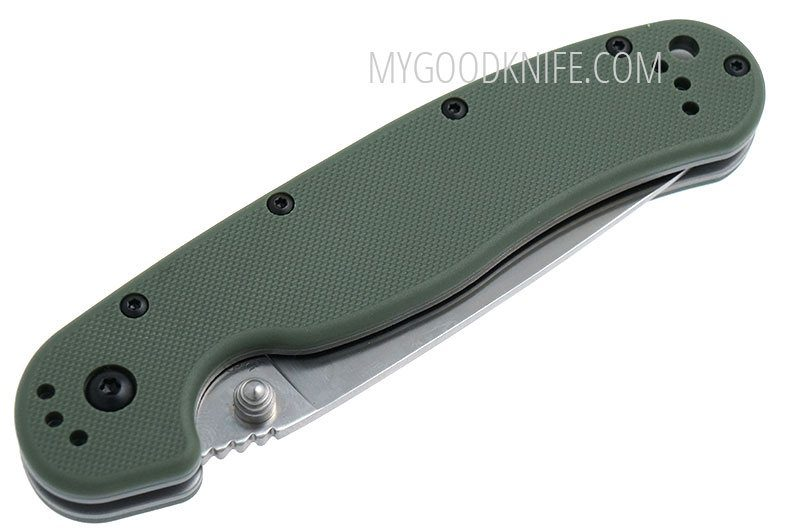 Valokuva #2 Ontario RAT-1 Green Handle (8849OD)