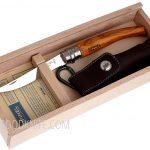 Фотография #4 Opinel No10 Slim olive wood with Wood Box & Sheath (001090)