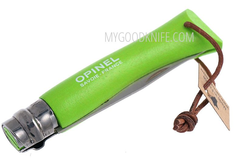 Фотография #2 Opinel No7 Green with Leather Lace (001442)