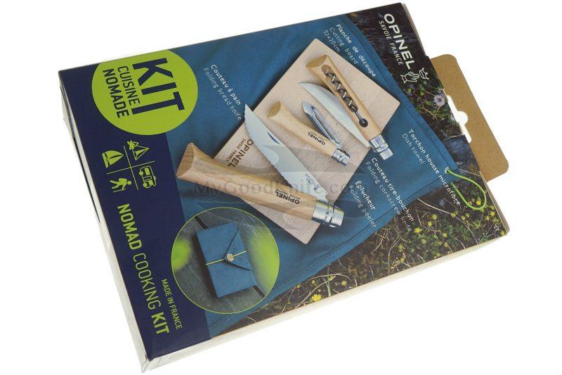 Photo #1 Kitchen knife set Opinel Nomad cooking kit  002177