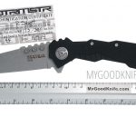 Photo #4 Quartermaster Hannibal Framelock Knife Stonewashed (QTR4F)