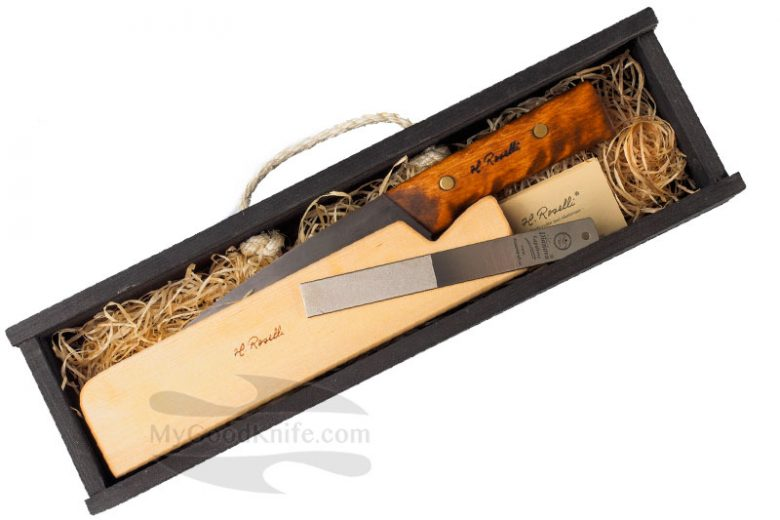 Photo #1 Roselli Wootz, UHC General knife in a gift box RW756P