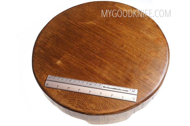 Фотография #3 Разделочная доска etúHOME Cross Cut Round Trivet RMA521ES6
