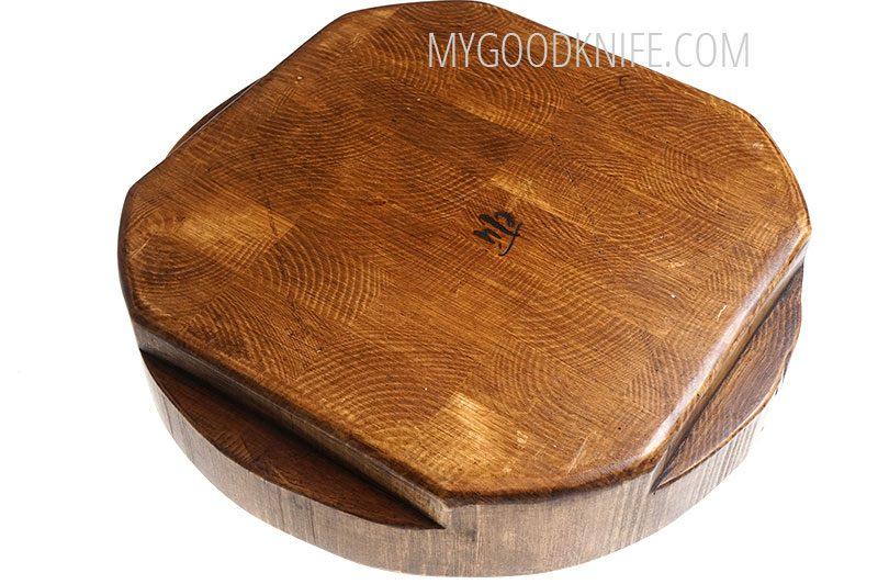 Photo #2 Cutting board etúHOME Cross Cut Round Trivet RMA521ES6