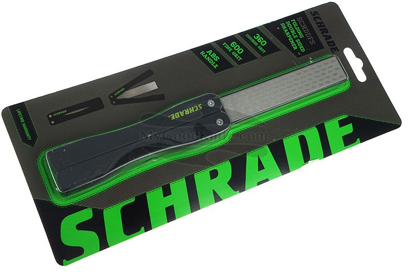 Knife Sharpener Schrade Diamond Folding SCHDDFSCP