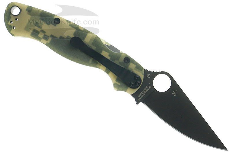 Photo #4 Spyderco Para Military  2 Camo  C81GCMOBK2