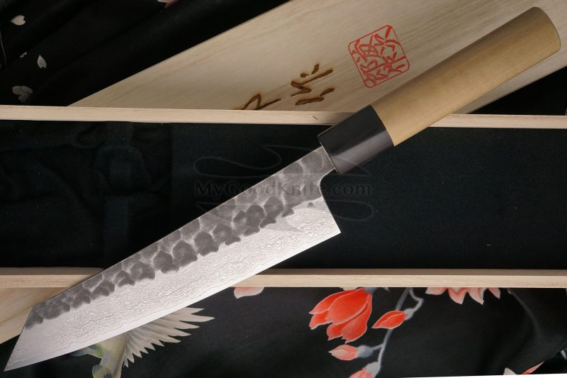 Photo #3 Kiritsuke Japanese kitchen knife Tojiro Handmade  J1 18cm
