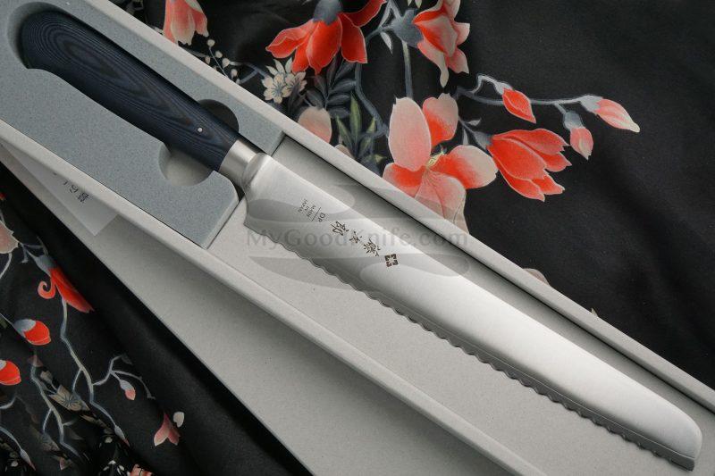 Фотография #1 Нож для хлеба Tojiro Home F-1304 22см