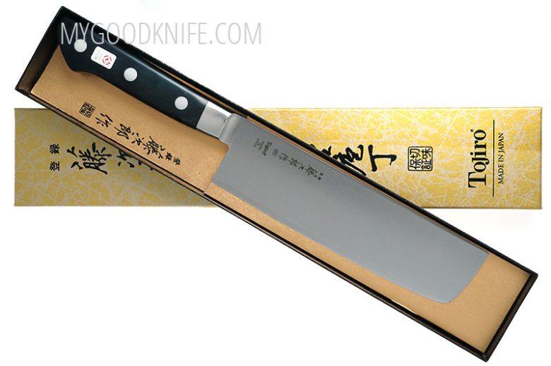 Photo #4 Tojiro DP Cobalt Alloy Steel Series Nakiri 165mm F-502