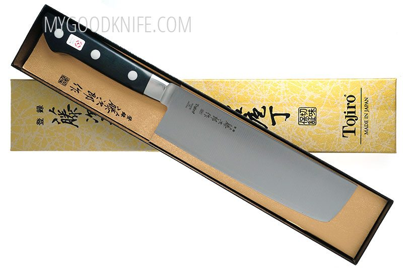 Photo #4 Tojiro DP Cobalt Alloy Steel Series Nakiri 165mm F-502