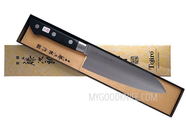 Photo #3 Tojiro DP Cobalt Alloy Steel Series Santoku 170mm F-503