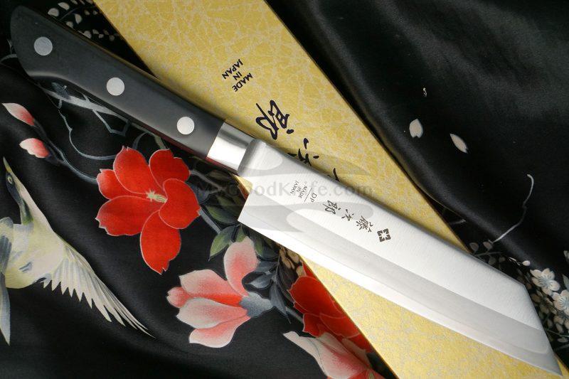 Photo #2 Japanese kitchen knife Tojiro DP Cobalt Alloy Bunka VG10 F-795 16cm