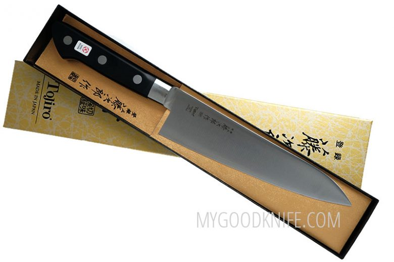 Photo #3 Tojiro DP Cobalt Alloy Steel Series Chef Knife 180 mm F-807