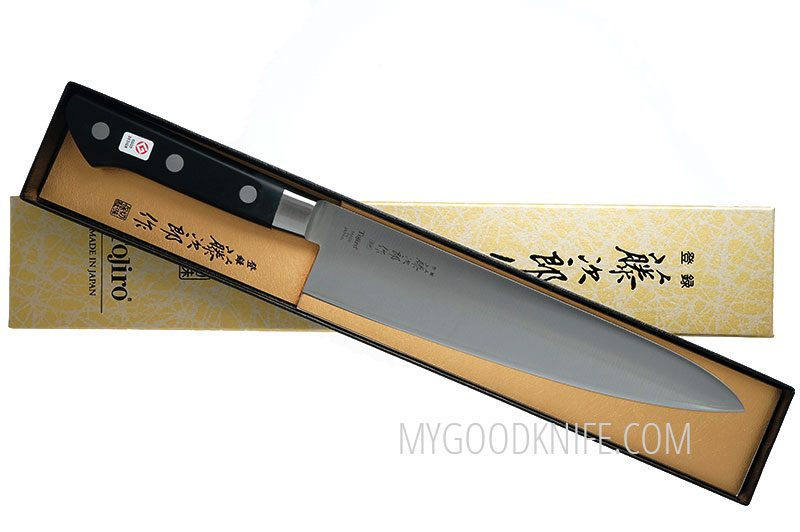 Photo #4 Tojiro DP Cobalt Alloy Steel Series Chef Knife 210 mm F-808