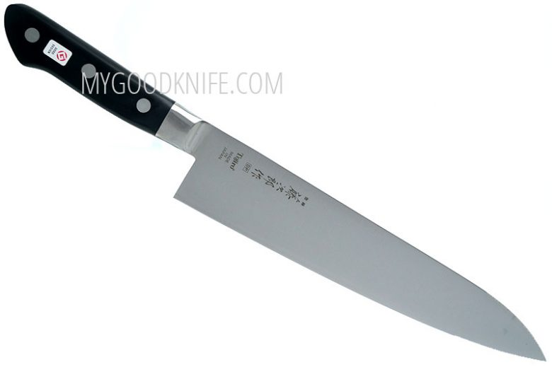 Photo #1 Tojiro DP Cobalt Alloy Steel Series Chef Knife 240mm F-809