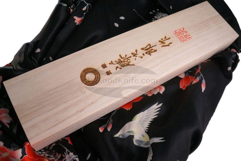 Photo #4 Gyuto Japanese kitchen knife Tojiro Handmade J6 21cm