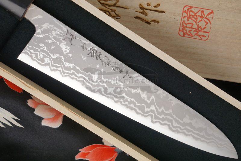 Photo #2 Gyuto Japanese kitchen knife Tojiro Handmade J6 21cm