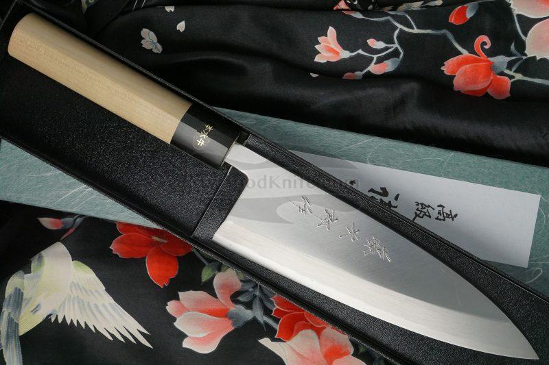 Фотография #1 Японский кухонный нож Деба Tojiro Aogami F-977 18см
