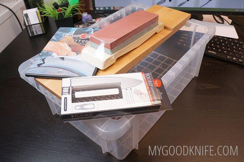 Фотография #3 Tojiro Набор для заточки ножей  F-481