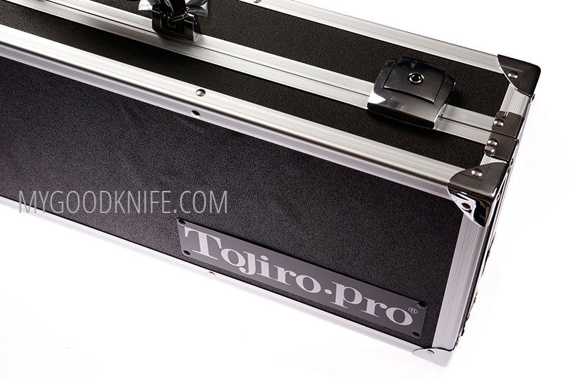 Photo #4 Tojiro Pro Premium Chef's Attache Knife Case, Black  (F-351)