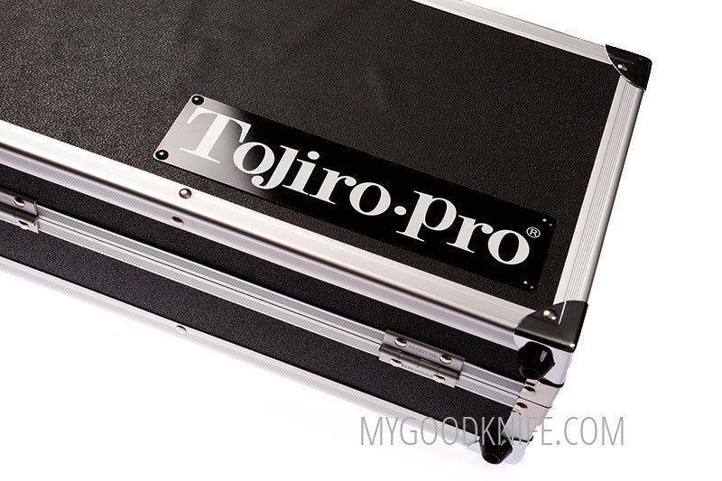 Photo #1 Tojiro Pro Premium Chef's Attache Knife Case, Black  (F-351)