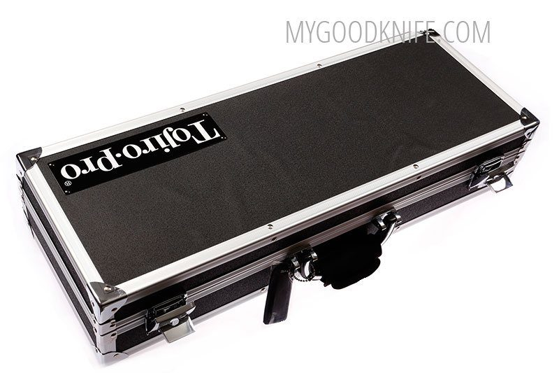Photo #2 Tojiro Pro Premium Chef's Attache Knife Case, Black  (F-351)