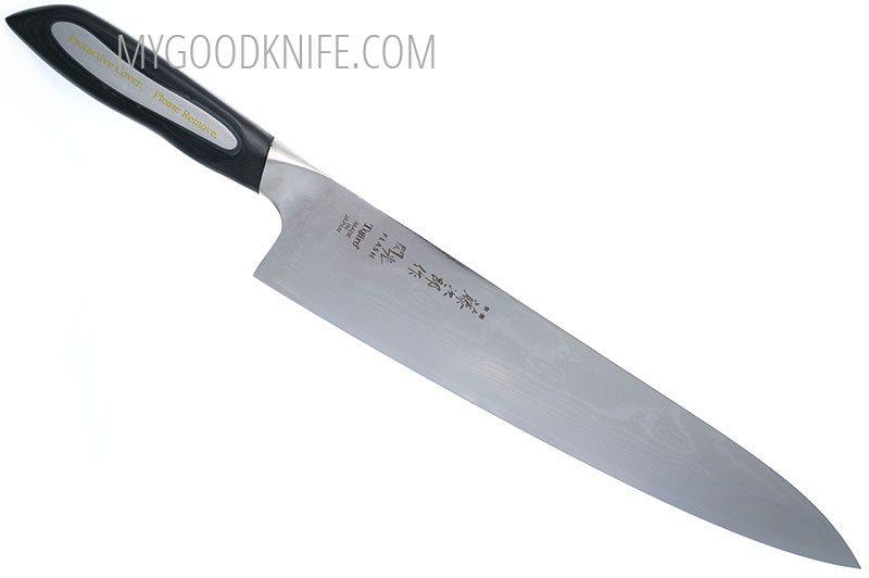 Фотография #2 Tojiro Damascus Flash  Поварской нож, 27 см (FF-CH270)