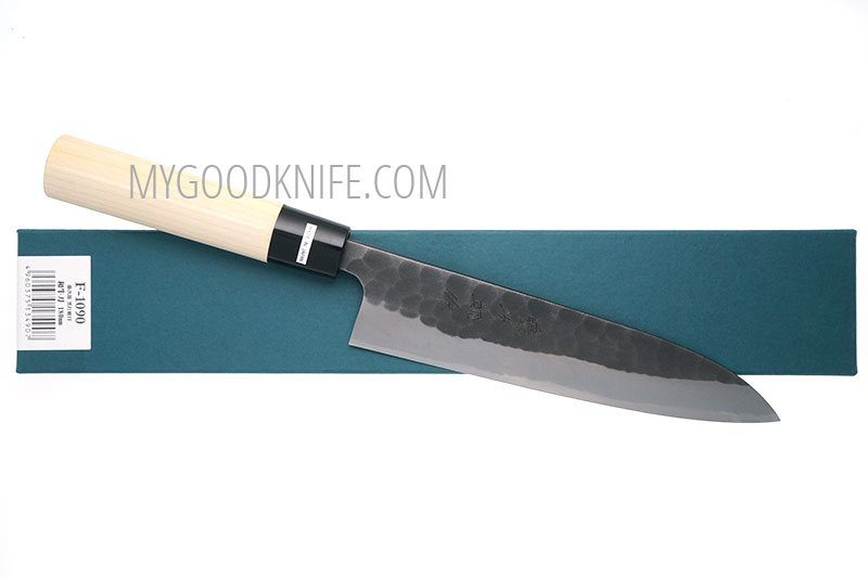 Photo #2 Tojiro Hammered Black Chef Knife (Japanese Style) 18 сm (F-1090)