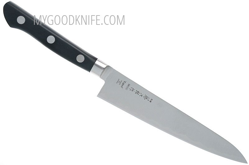 Photo #1 Tojiro Powdered High Speed Steel Series  Petty Knife 15 sm F-525