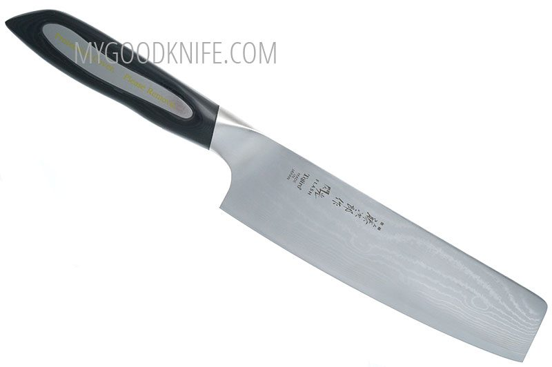 Photo #1 Tojiro Damaskus Flash Nakiri, 18 см (FF-VE180)