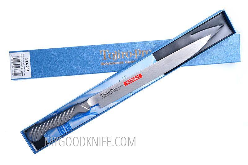 Фотография #1 Tojiro-Pro Filet de Sole Филейный нож, 19 см FD-705