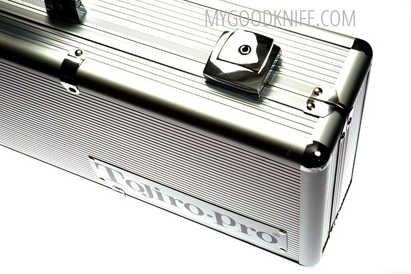 Photo #5 Tojiro Pro Premium Aluminum Chef's Attache Knife Case (F-350)