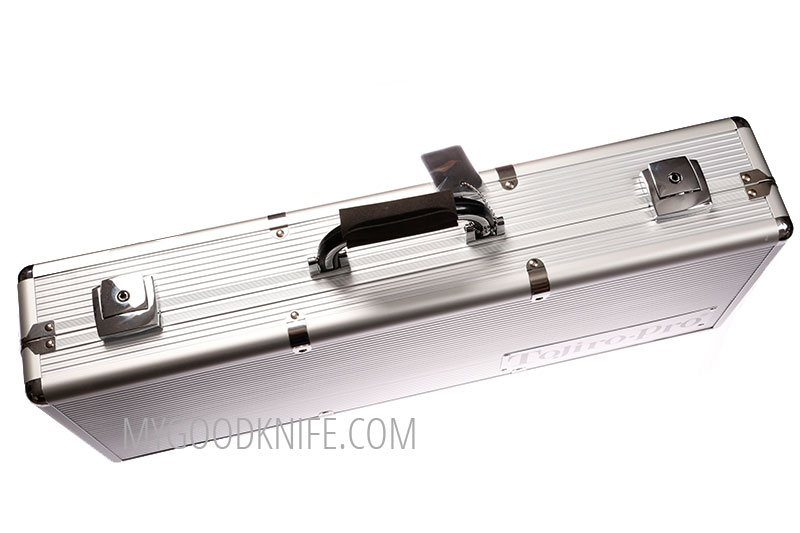 Photo #4 Tojiro Pro Premium Aluminum Chef's Attache Knife Case (F-350)