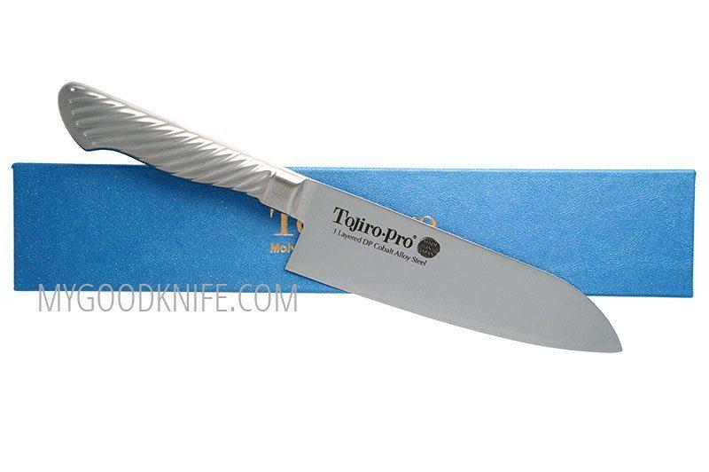 Фотография #3 Японский кухонный нож Сантоку Tojiro Pro F-895 17см