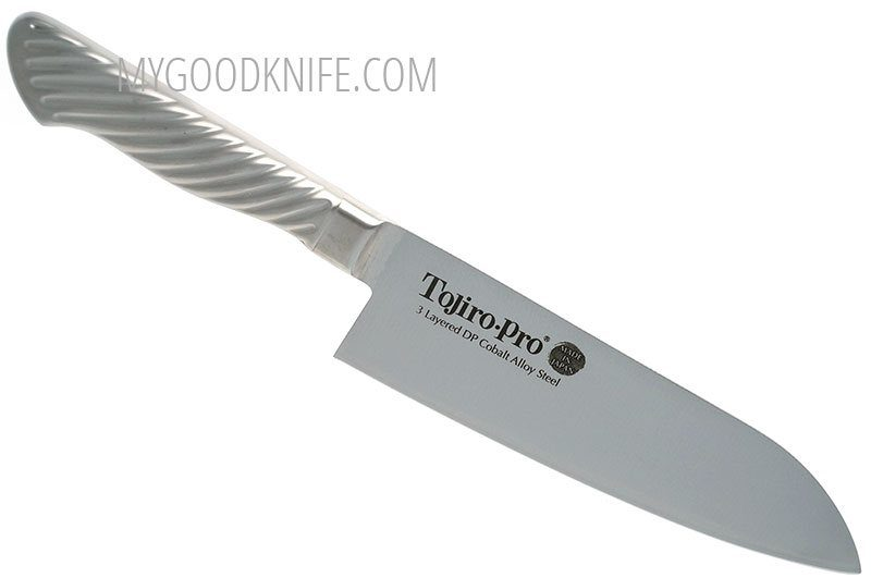 Фотография #1 Японский кухонный нож Сантоку Tojiro Pro F-895 17см