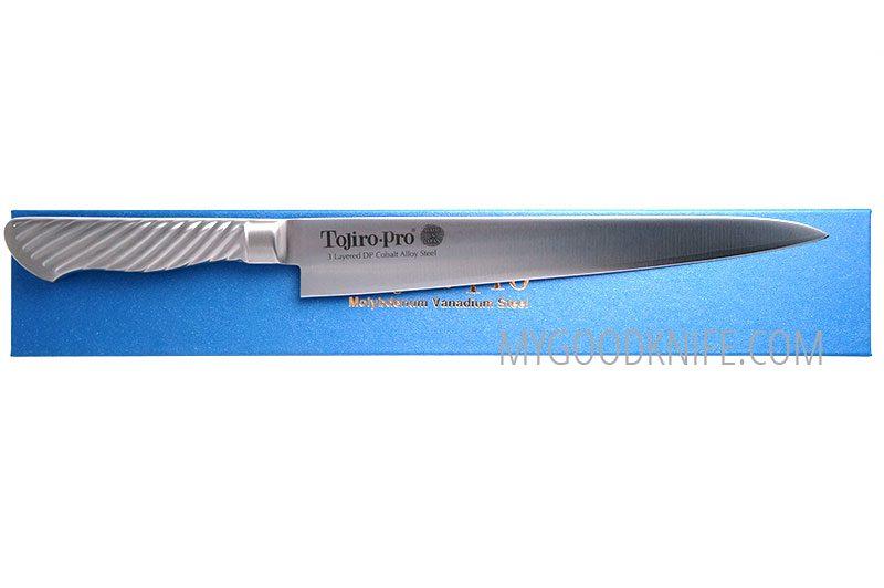 Фотография #2 Японский кухонный нож Суджихики Tojiro Pro F-886 24см