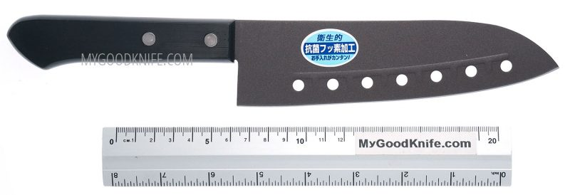 Фотография #4 Tojiro  Teflon Series Сантоку 16,5 sm (FA-87)