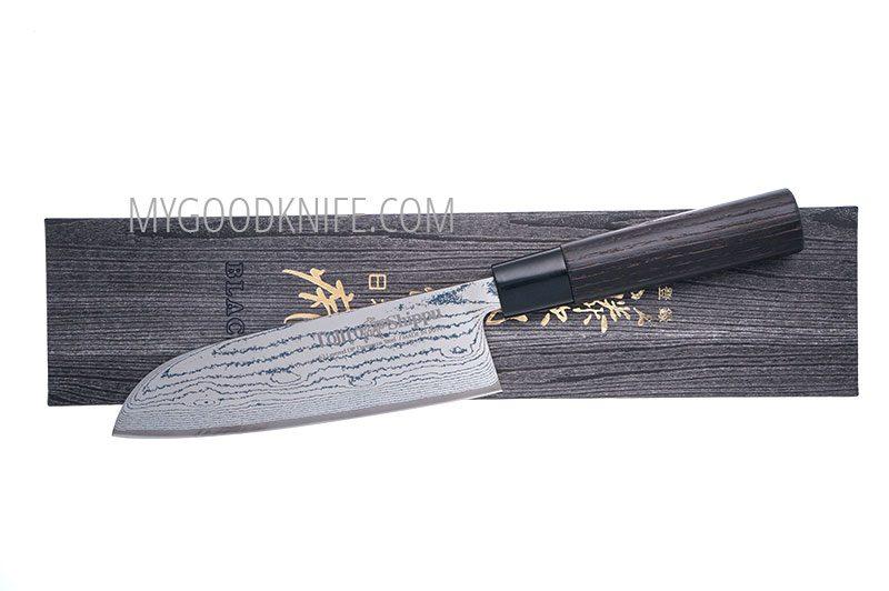 Photo #1 Tojiro Shippu Black Santoku 16,5 sm (FD-1597)
