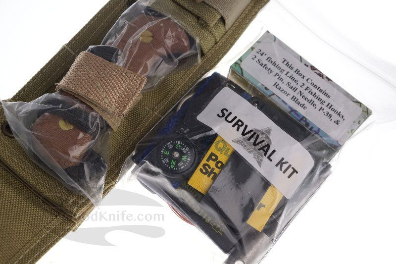 Photo #4 Survival knife TOPS Xcest Bravo XCEST-B 8.8cm
