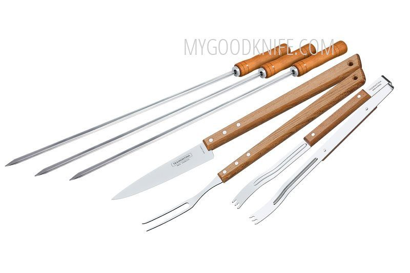 Photo #2 Tramontina 6 pcs Barbecue set 26499/026