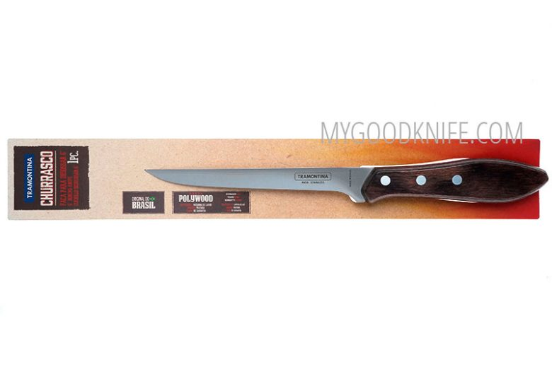 Фотография #3 Tramontina Polywood 6″ Филейный нож (21188196)