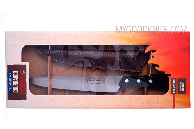 Photo #4 Tramontina Churrasco Meat knife with sheath (21190098)