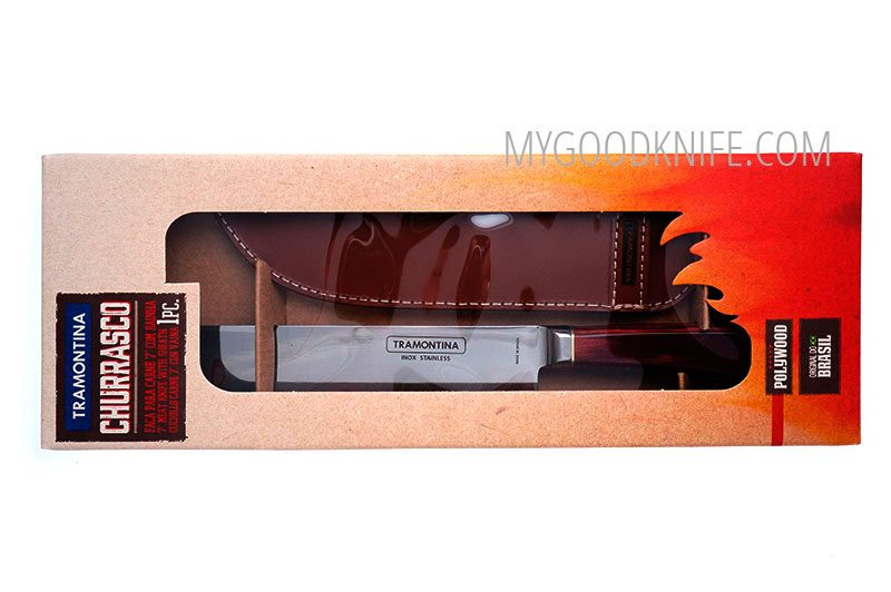 Photo #2 Tramontina Churrasco Meat knife with sheath (21573177)