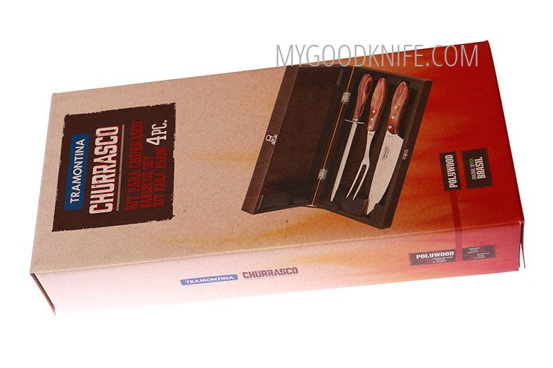 Photo #2 Tramontina Churrasco Barbecue set 4pcs (21198964)